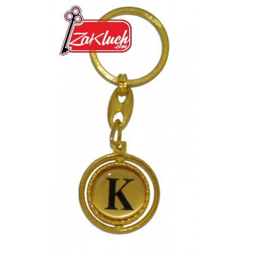 Буквата К  - в златист цвят