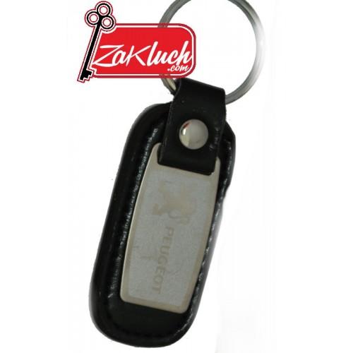 Ключодържател за автомобили Пежо  - с метална плочка