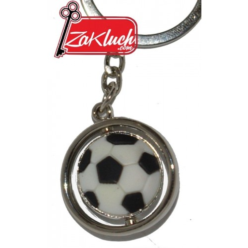 Футболна тока - въртящ се ключодържател
