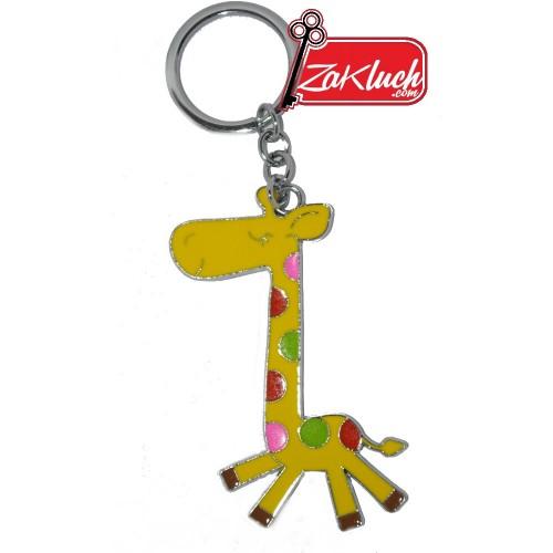 Жираф - метален ключодържател