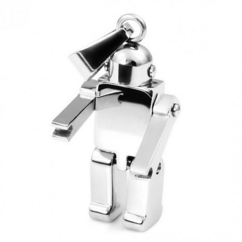 Робот - ключодържател от неръждаема стомана