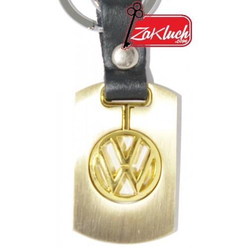 Златист ключодържател за VW Поло, Пасат, Голф