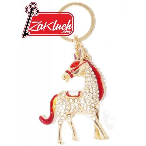 Конче - луксозен ключодържател със златист цвят