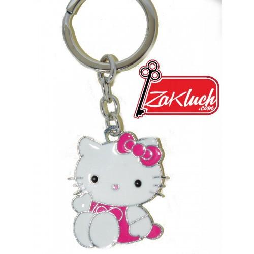 Hello Kitty метален ключодържател
