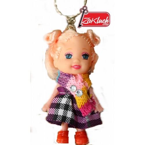 Детски ключодържател кукла