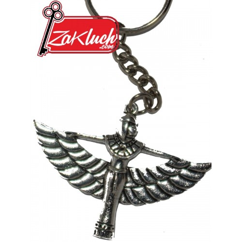 Египетска богиня - метален ключодържател