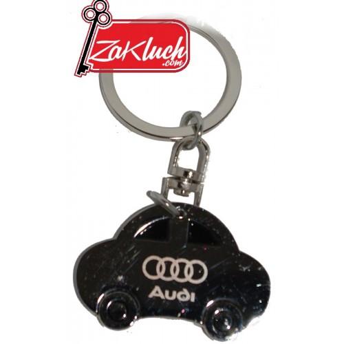 Ауди - автомобил - ключодържател с две лица