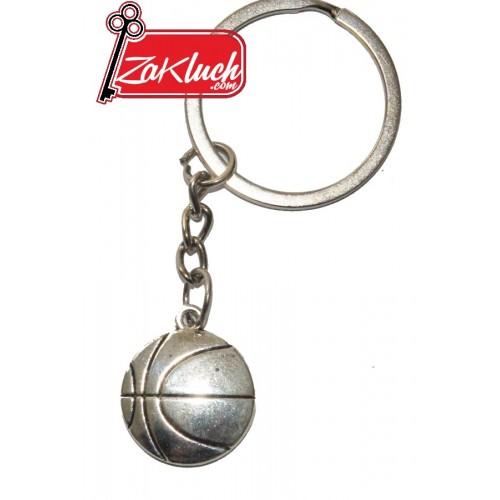 Баскетболна метална топка - ключодържател