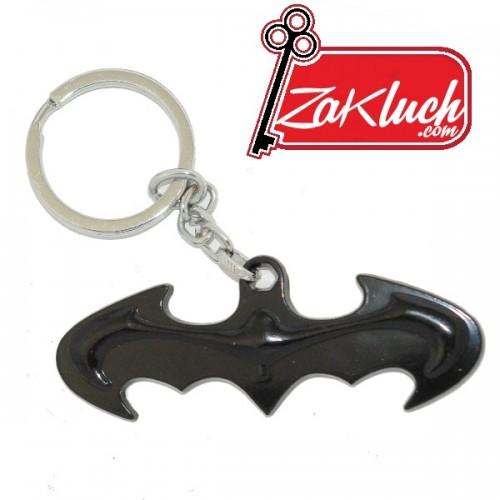 Батман - логото - ключотържател, изработен от метал