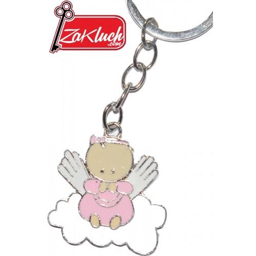 Бебенце - момиченце  - метален сувенир