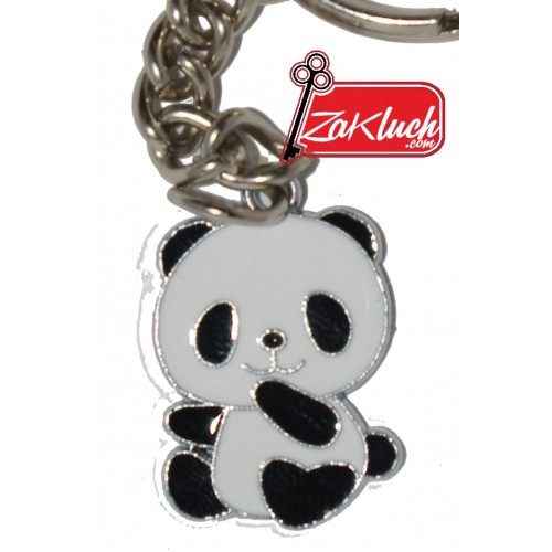 Бебенце Пандичка - метален ключодържател с едно лице