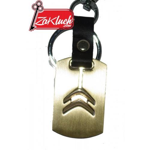Citroen - златист ключодържател, масивен и елегантен