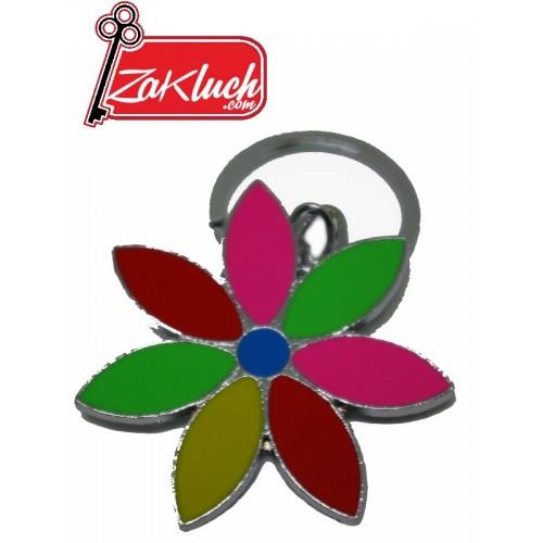 Цвете, изработено от парче метал