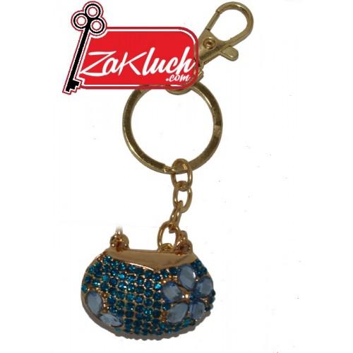 Дамска чанта - луксозен ключодържател