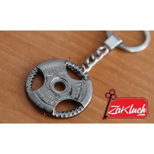 Фитнес ключодържател - диск за щанга