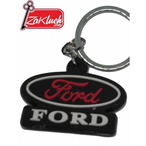 Ключодържател за Форд - гумен