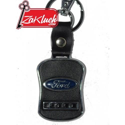 Ford - ключодържател от кожа - черен