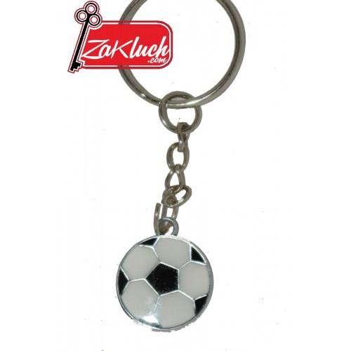 Футболна топка  - ключодържател с едно лице