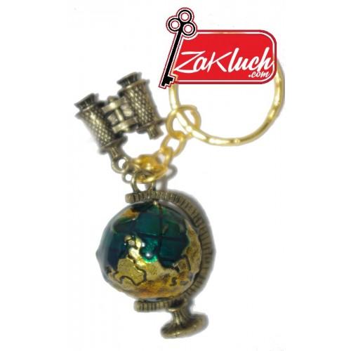 Глобус и бинокъл - изследователски сувенир