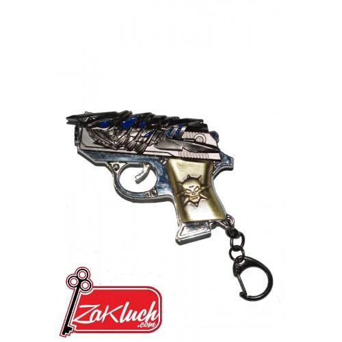 Интересен ключодържател под формата на пистолет