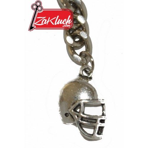 Каска за американски футбол, метален сувенир