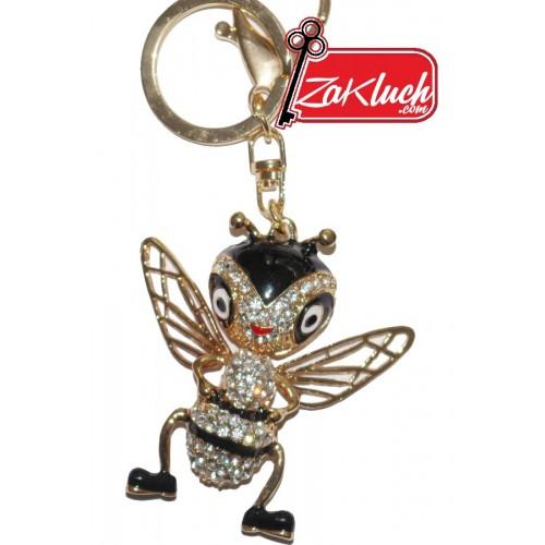 Мравка с криле - златист ключодържател