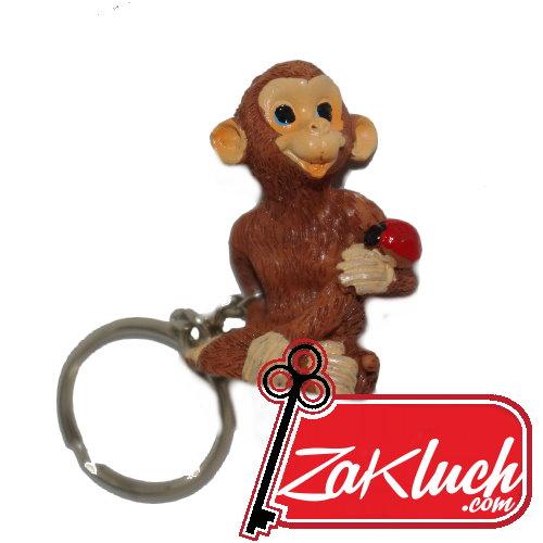 Маймуна - 3д ключодържател