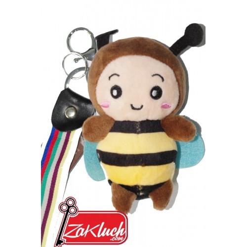 Пчеличка - плюшен ключодържател