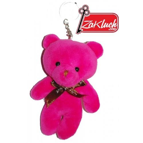Плюшен розов мечок