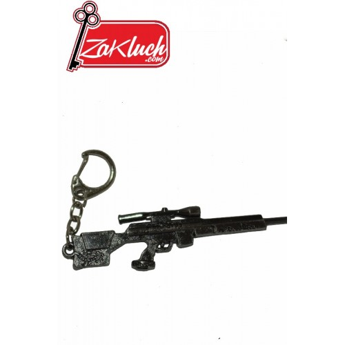 Автоматична пушка със снайпер - гравиран сувенир
