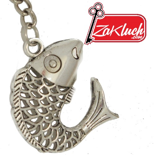 Риба - метален ключодържател