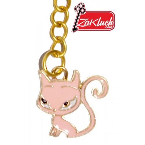Малко котенце - метален ключодържател