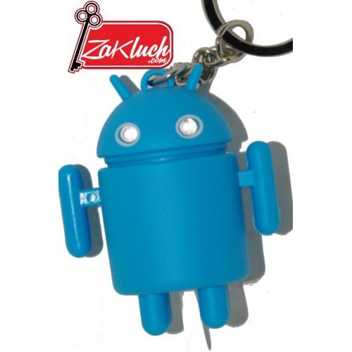 Син Андроид - LED ключодържател