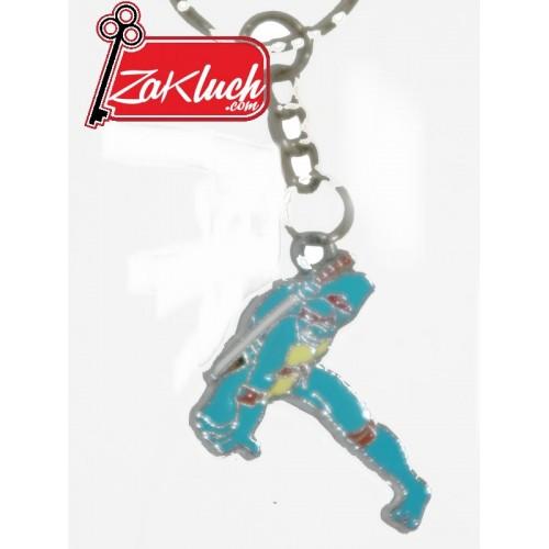 Синя нинджа - детски ключодържател