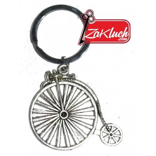 Старовремски велосипед под формата на ключодържател