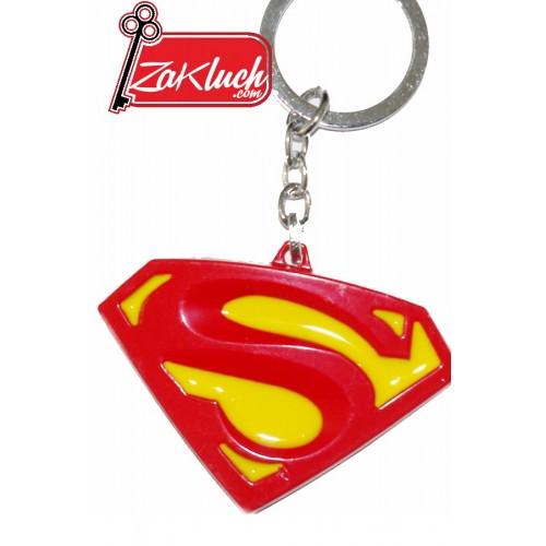 Супермен - метален ключодържател
