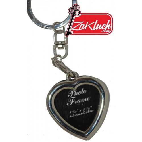 Ключодържател - сърце, фото рамка