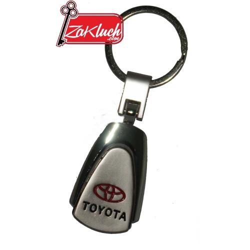 TOYOTA - масивен ключодържател с едно лице