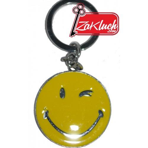 Усмивчица - метален ключодържател