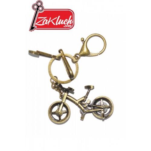Велосипед с цвят на старо злато
