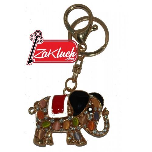 Златисто слонче - ключодържател, носещ късмет