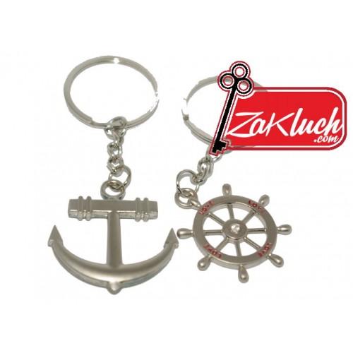 Ключодържател за хора, обичащи пътуването и морето