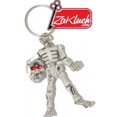 Скелет, държащ главата си в ръце