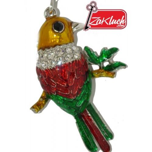 Разноцветна птичка - ключодържател