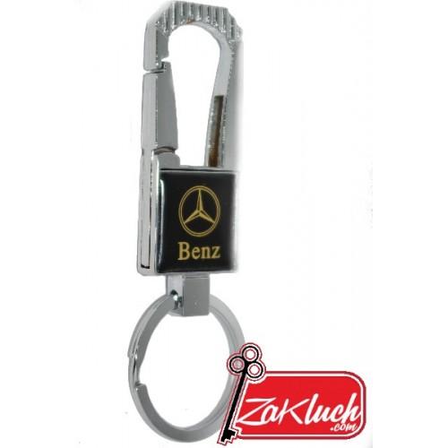 Метален автомобилен ключодържател Mercedes Benz