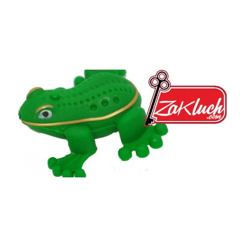 Жаба жабурана - детски ключодържател
