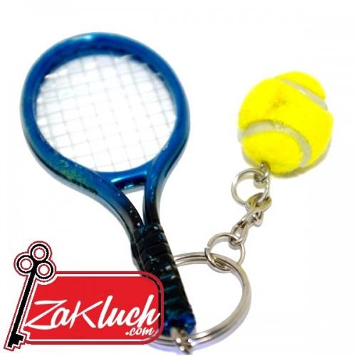 Тенис ракета - спортен ключодържател