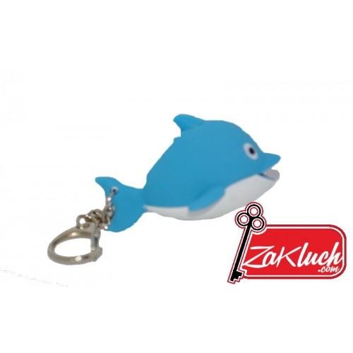 Ключодържател - светещо делфинче